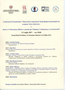 Convegno Olbia 21 luglio